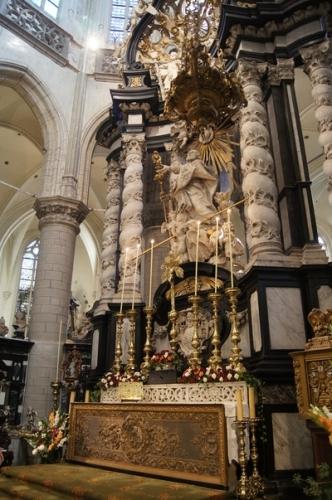 Hoofdaltaar hoogkoor Sint-Jacob Antwerpen