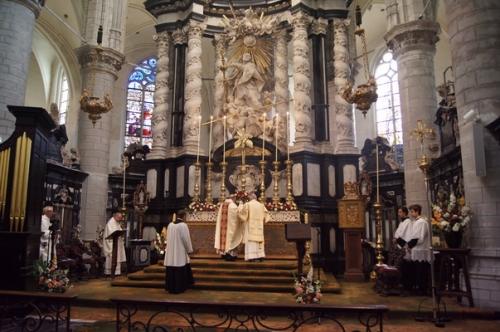 Bewieroking van het altaar
