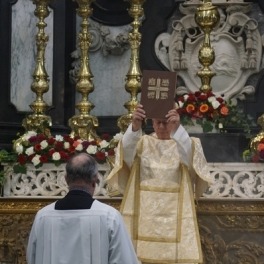 Processie voor het Evangelie
