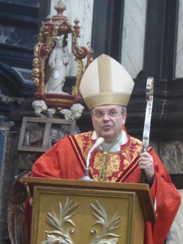 Homilie door Mgr. Hans Van den Hende