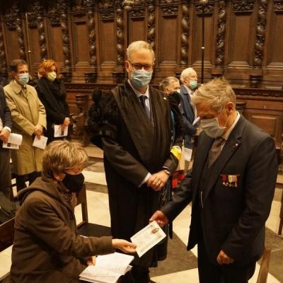 44 overreiking pauselijke zegen aan de jubilarissen
